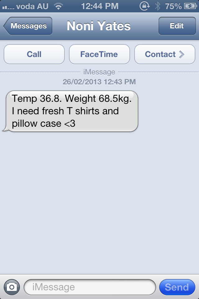The Best Text Message To Wake Up To!   justanothercurveball